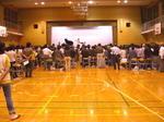 """「大阪5」クラス=第3回レッスンの後半。今年初めての""""シャッフル練習""""となった《081009場内最後方から撮影》"""