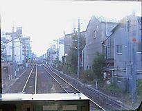 天王寺に向かうJR大和路線電車の前面展望《110915撮影》