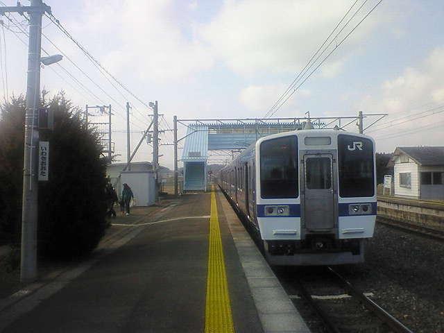 上野、そして常磐線へ…