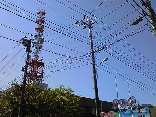 NHK新潟放送局の送信塔《080920撮影》
