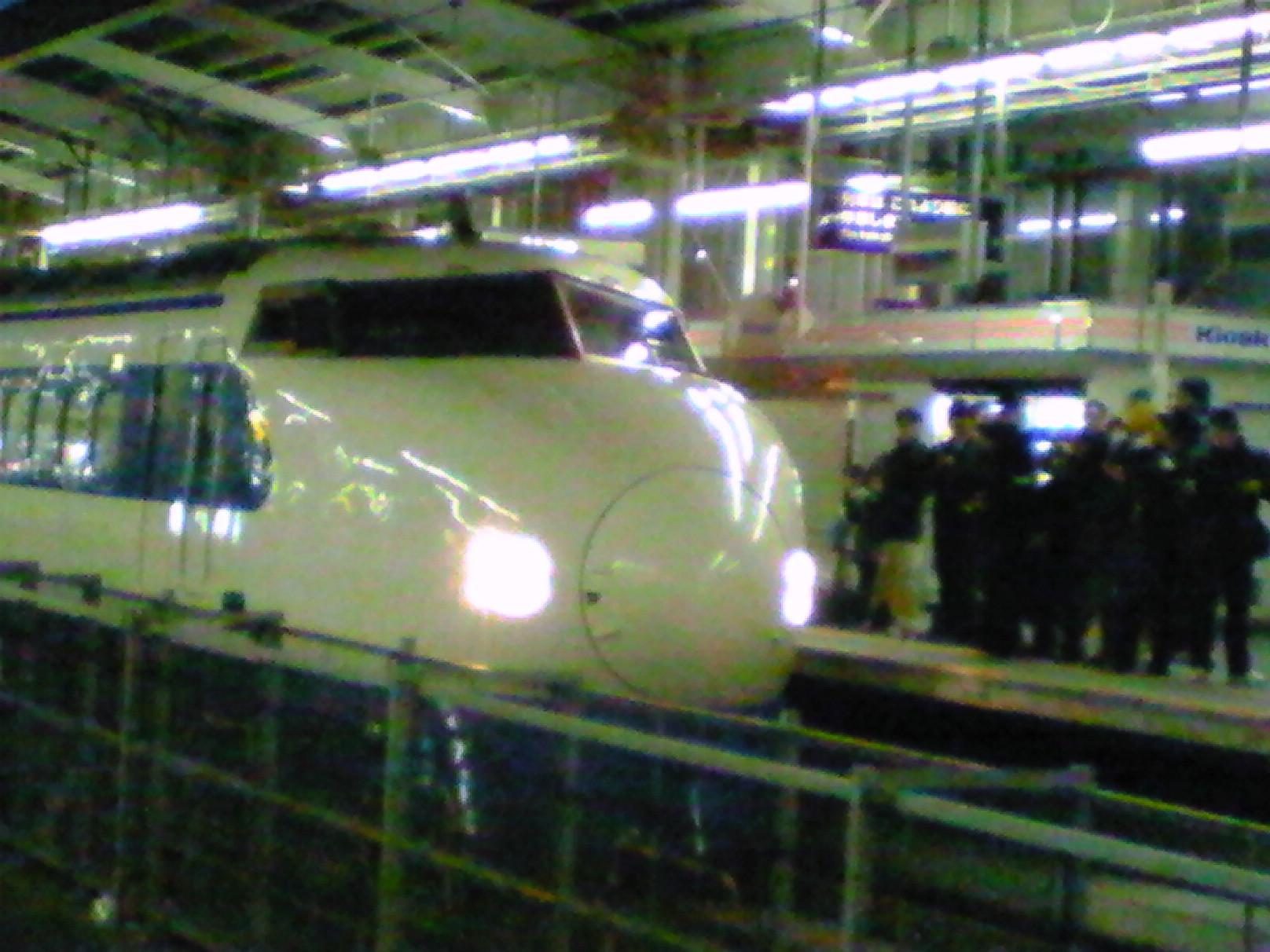 0系新幹線車両の運転最終日…
