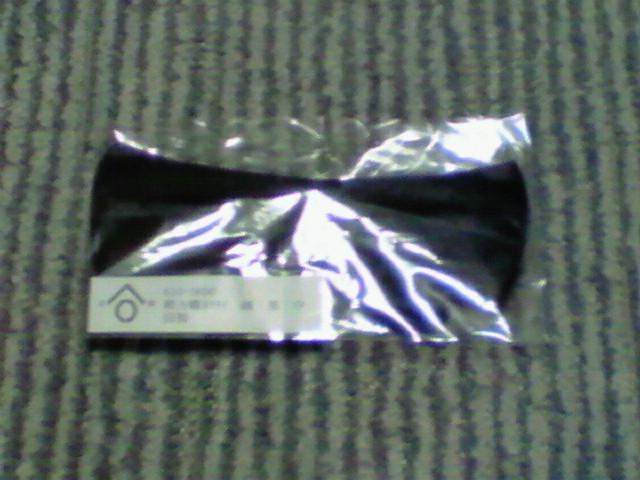新しい蝶ネクタイ、届きました…
