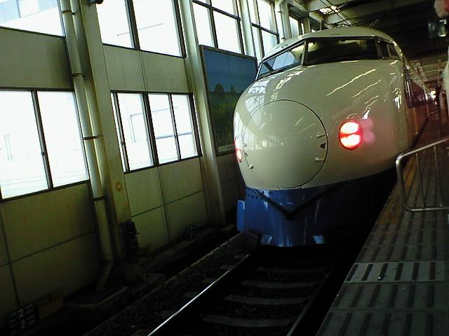 広島止まりの0<br />  系「ひかり356<br />  号」