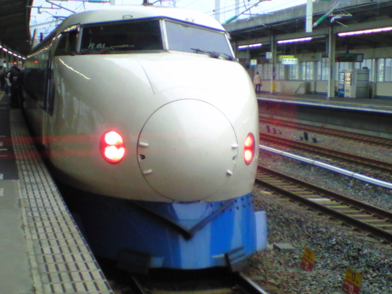 【0系新幹線車両】徳山駅にて…