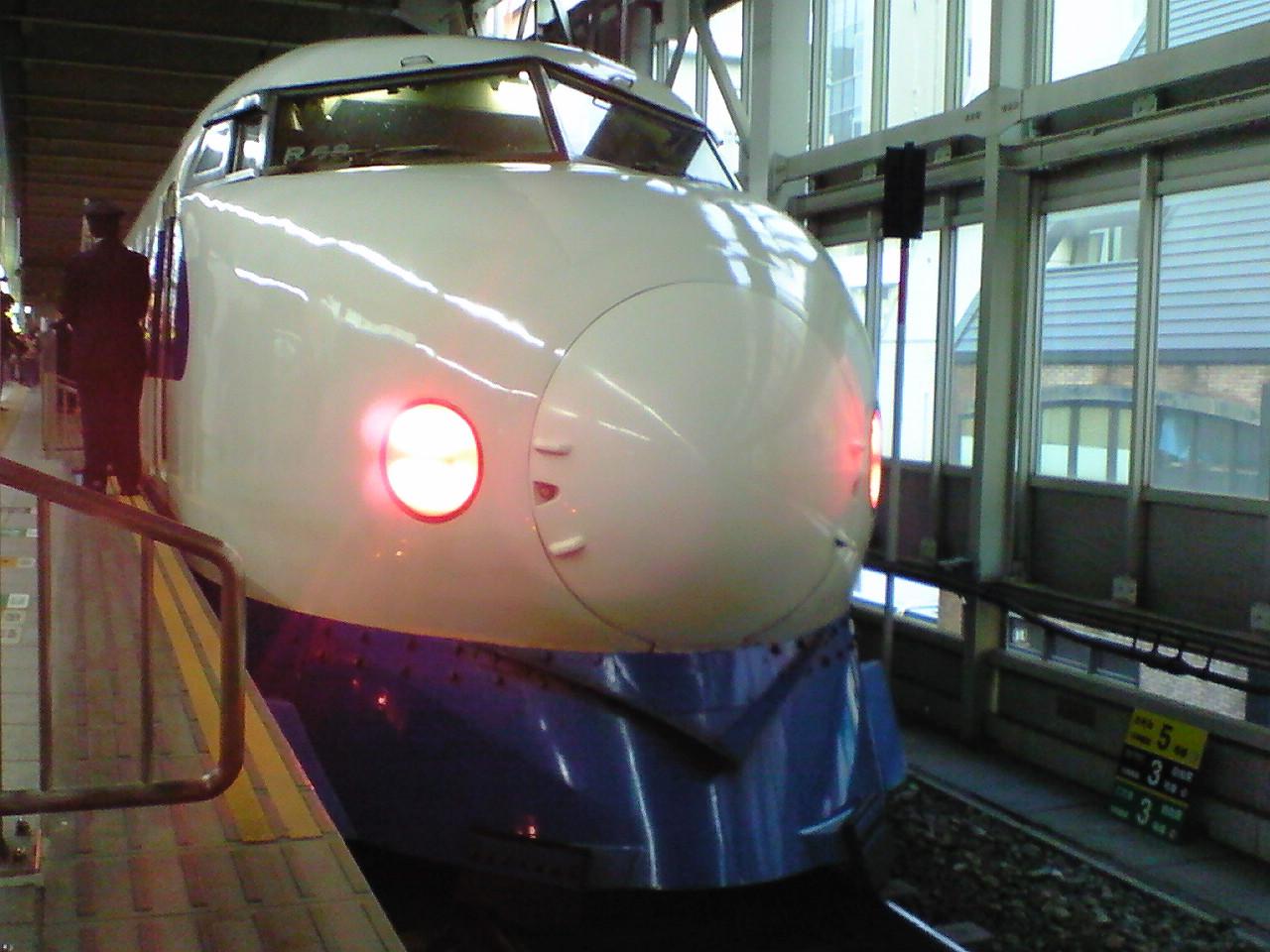 【0系車両最終日】博多駅にて…