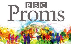 今夏(2010年夏)開催分の「BBCプロムス(PROMS)」ロゴ。昨年までとは一転して、どことなく古風な書体を使って描かれている